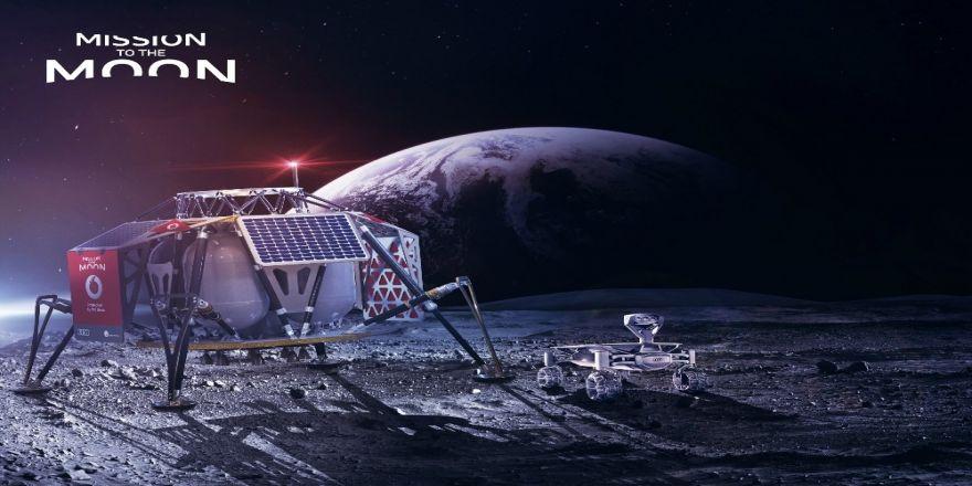 Vodafone ve Nokia Ay yüzeyinde ilk 4G şebekesini kuracak