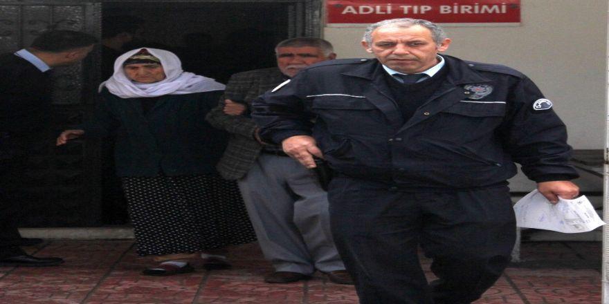 Kaçak su kullanan 81 yaşındaki kadın gözaltına alındı