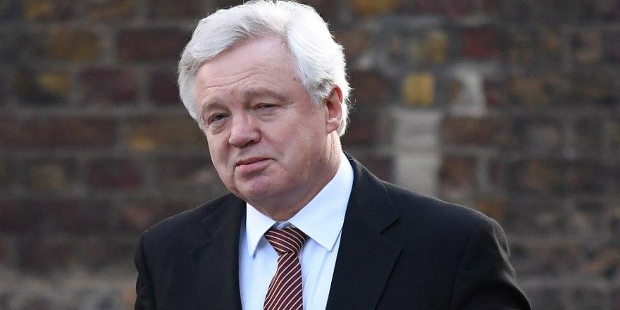 Brexit Bakanı Davis'ten AB'ye gözdağı