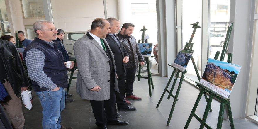 Taştaki Türkler sergisi açıldı