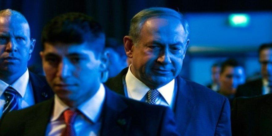 Netanyahu'nun zor anları !