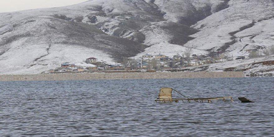 Ürküten görüntü! Baraj suyu çekilince ortaya çıktı