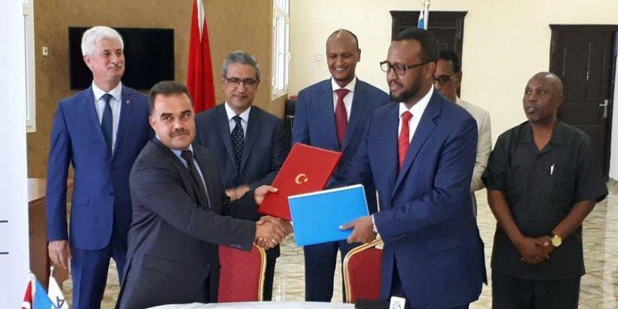 Somali ile TİKA arasında tarım protokolü imzalandı