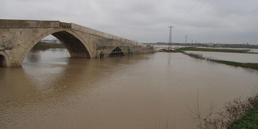 Ergene Nehri taştı