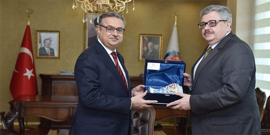 Rusya'nın Ankara Büyükelçisi Yerhov, Mersin'de