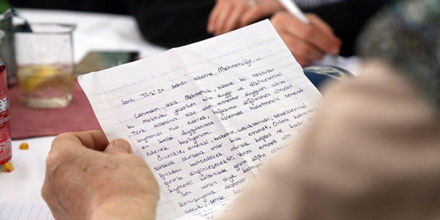Afrin'deki Mehmetçik'e moral mektubu