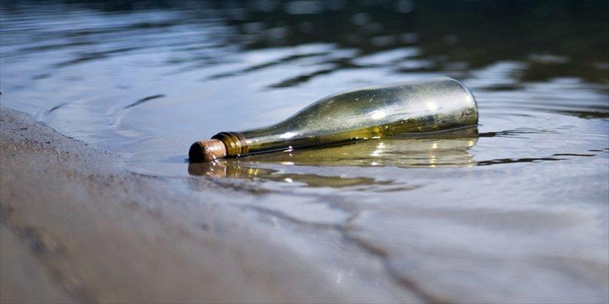 Dünyanın en eski şişe mesajı bulundu
