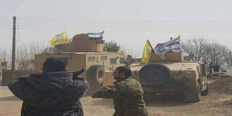 ABD'nin verdiği zırhlı araçlar Afrin yolunda!