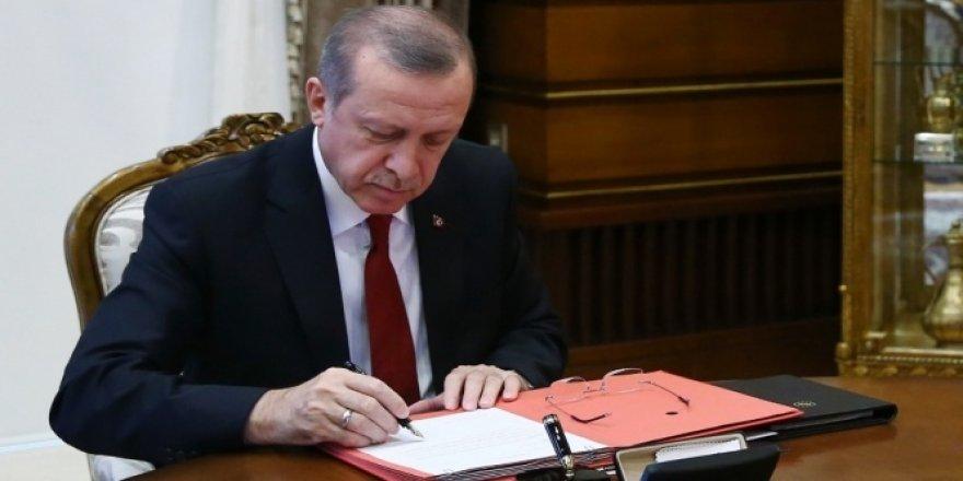 Erdoğan, 26 kanunu onayladı