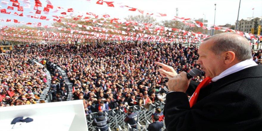 Erdoğan'dan dünya'ya Afrin resti!