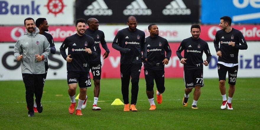 Beşiktaş'ta Gençlerbirliği hazırlıkları başladı