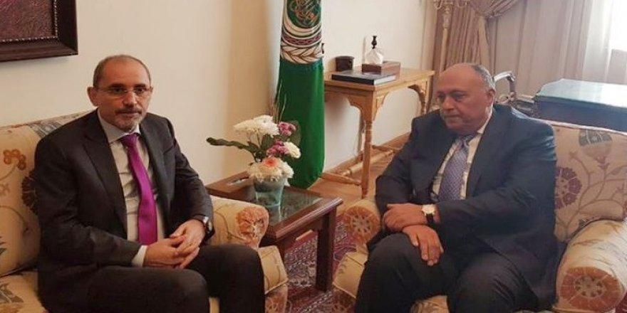 Ürdün Dışişleri Bakanı Safadi, Mısırlı mevkidaşıyla görüştü