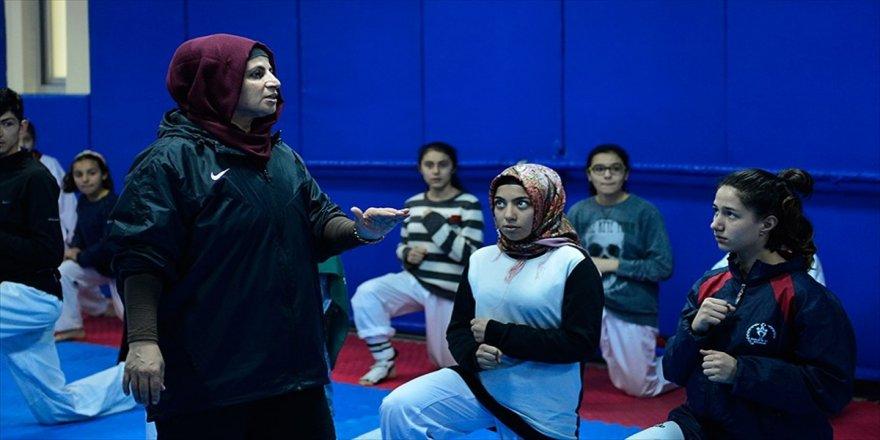 Şampiyon anne şampiyon sporcular yetiştiriyor