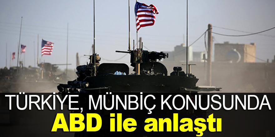 Türkiye, ABD ile anlaşmaya vardı