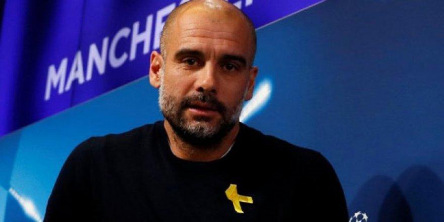 Pep Guardiola'ya 'Siyasi mesaj' cezası