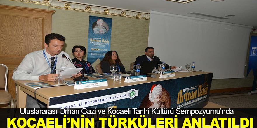 Kocaeli'nin türkülerinin tarihi kökleri anlatıldı