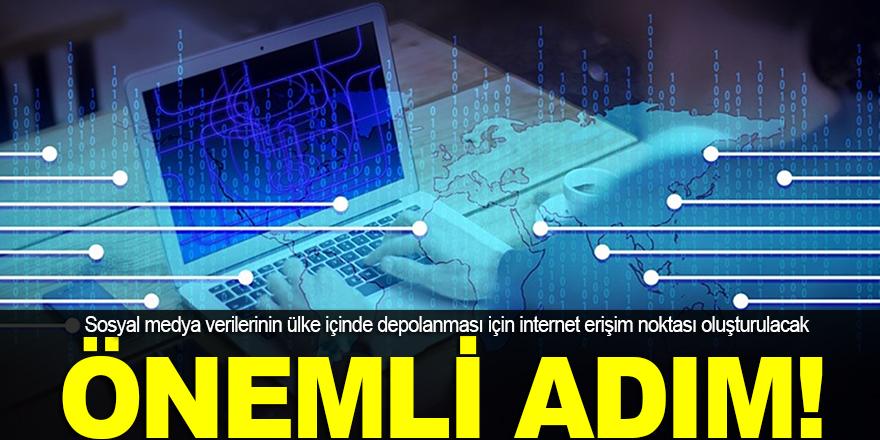 Sosyal medya verileri Türkiye'de kalacak