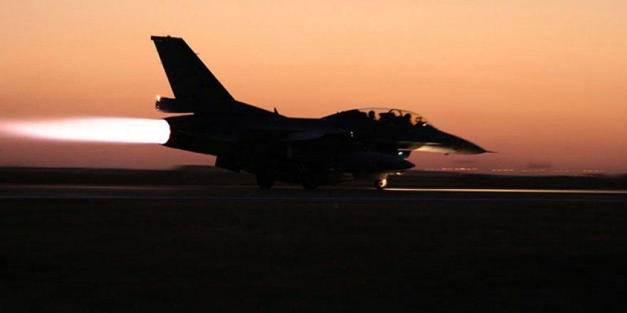 Irak, DEAŞ mevzilerini bombaladı