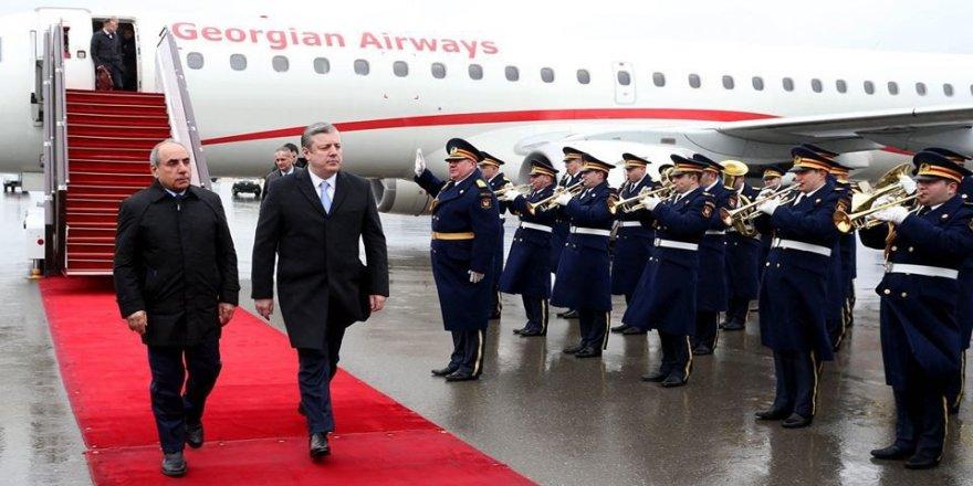 Gürcistan Başbakanı, Bakü'de