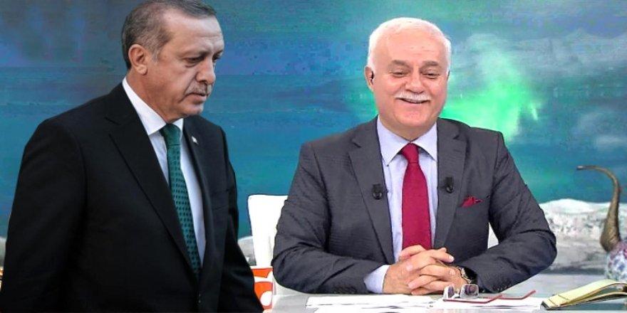 Erdoğan'ın tartışma yaratan çıkışı, Nihat Hoca'ya soruldu