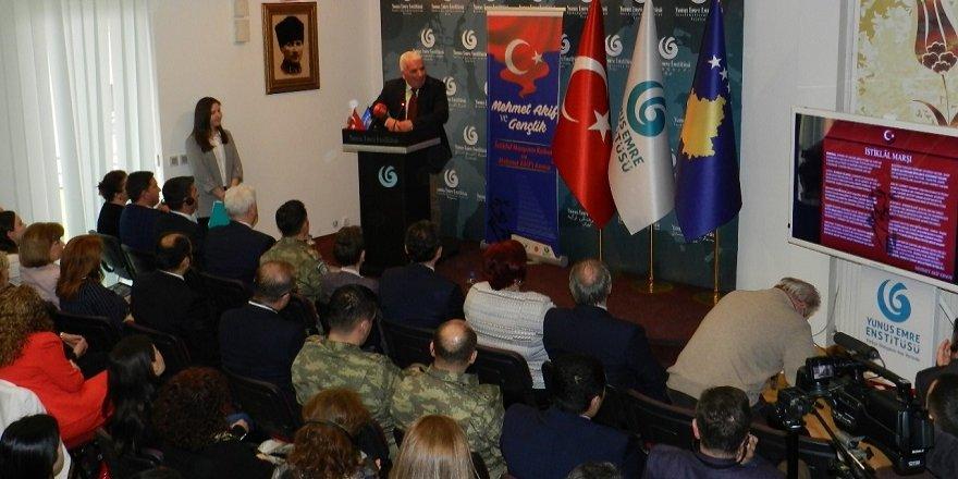 Mehmet Akif Ersoy, Kosova'da anıldı