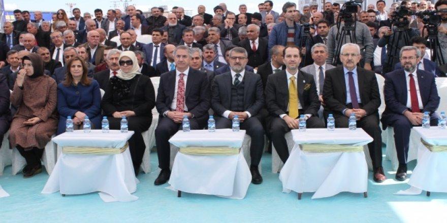 Fatih Erbakan, babasının adı verilen bulvarın açışına katıldı