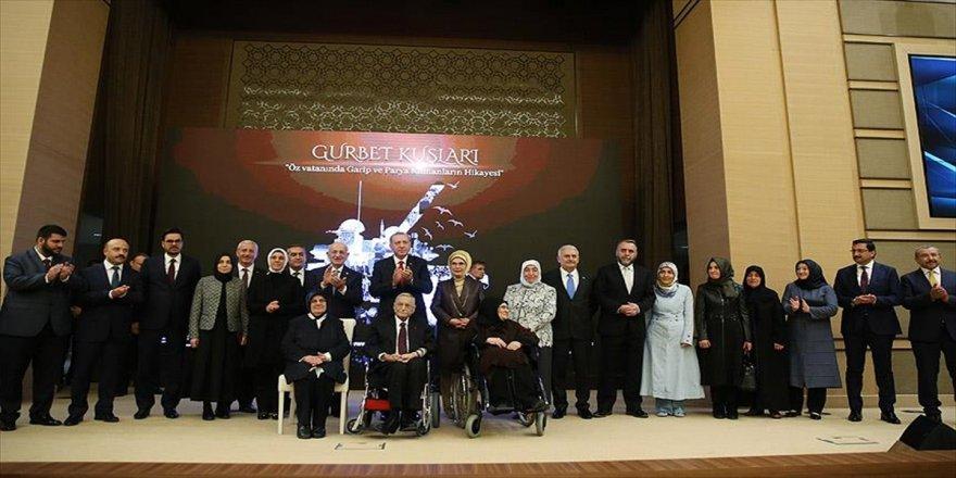 Erdoğan, 'Gurbet Kuşları' belgeselinin galasına katıldı