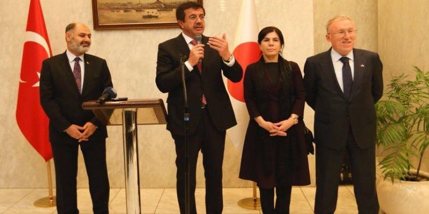 Ekonomi Bakanı Zeybekci'nin Tokyo temasları