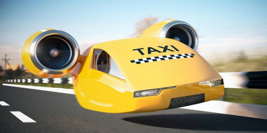 'Uçan taksi' için büyük adım