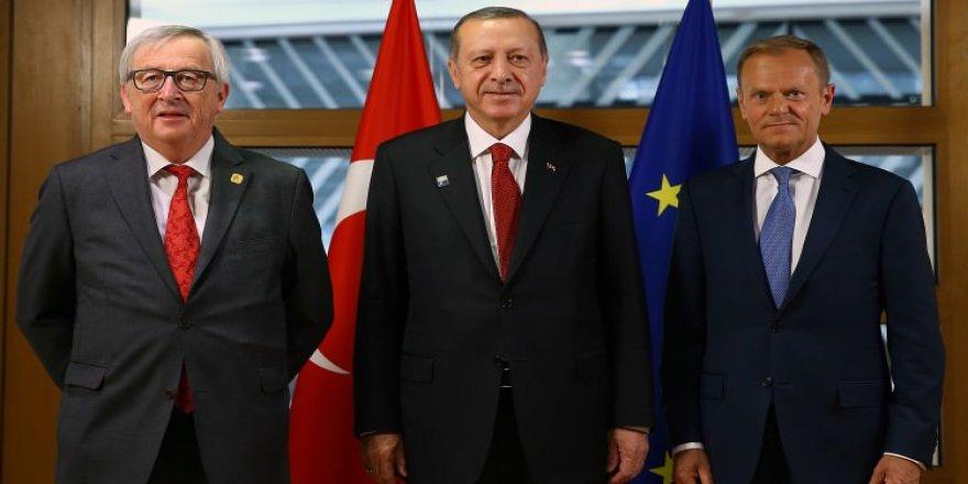 Cumhurbaşkanı Erdoğan AB Liderler Zirvesi'ne katılacak