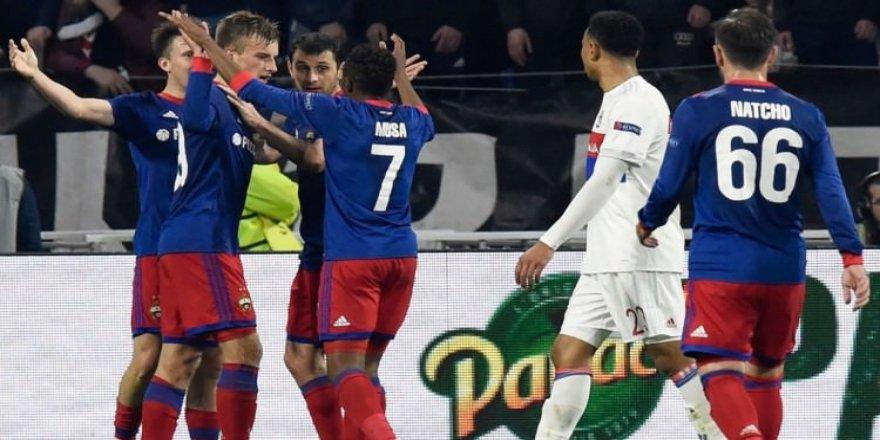 CSKA Moskova, çeyrek finale yükseldi