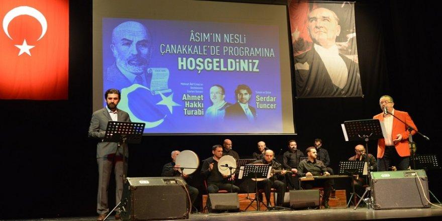 Mehmet Akif'in eserleri seslendirildi