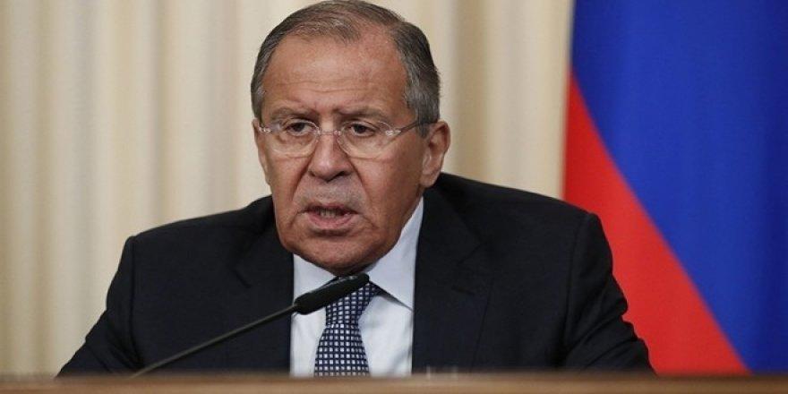 """Lavrov: """"Suriye meselesi diplomasi ile çözülecek"""""""