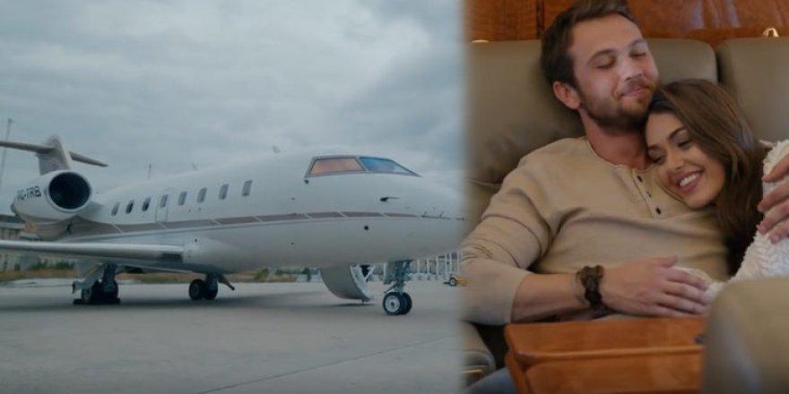 Düşen özel uçak Çukur dizisinde yer almış
