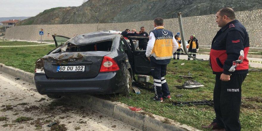 Bakan Fakıbaba'yı korumakla görevli polisler kaza yaptı