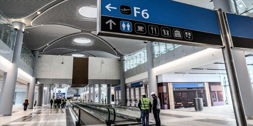 Yeni Havalimanı'nda ticari alanlara büyük ilgi