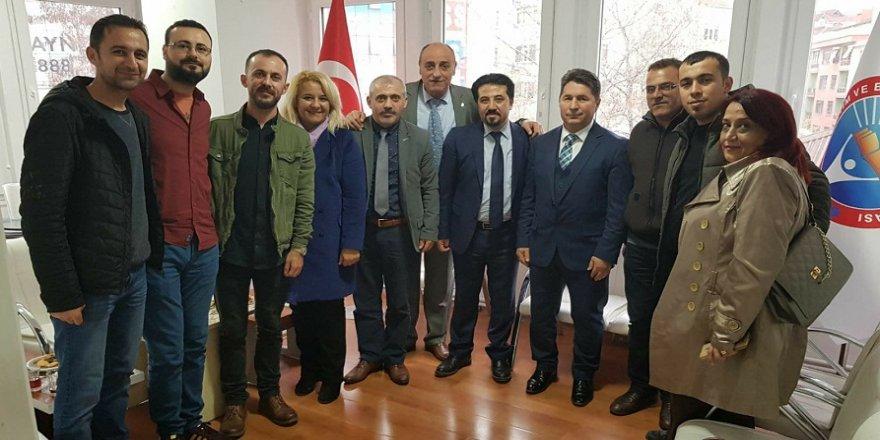 CHP'den Eğitim İş Sendikası'na ziyaret