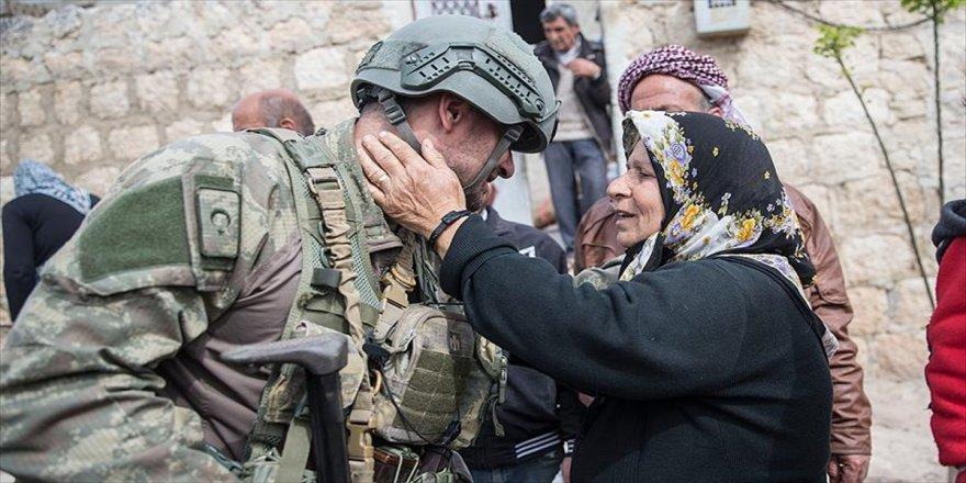 'Türk askerini görünce kurban kestik'