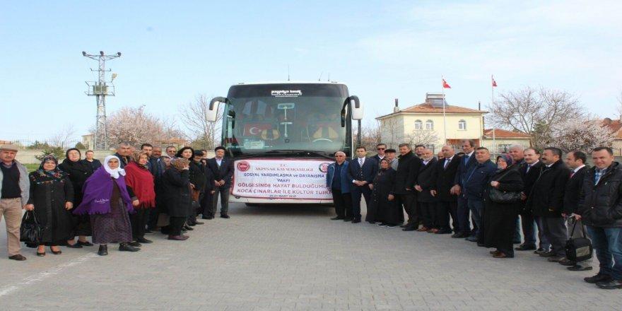 'Koca Çınarlar Kültür Turu' projesi hayata geçirildi