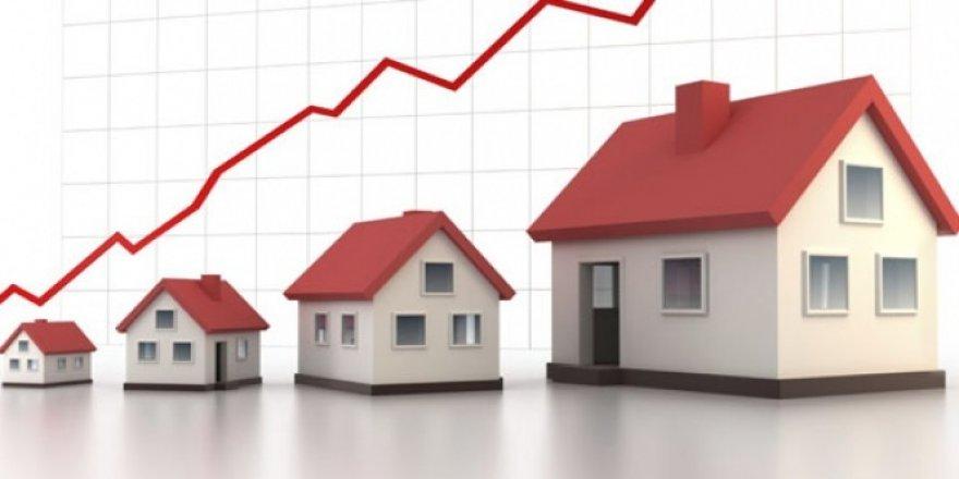 Konut fiyat endeksi yüzde 9,86 yükseldi
