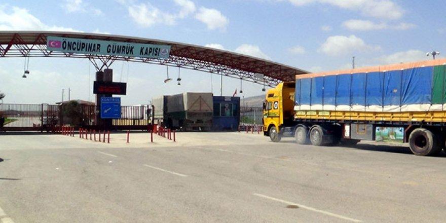 BM yardım konvoyu Suriye'ye geçiş yaptı!