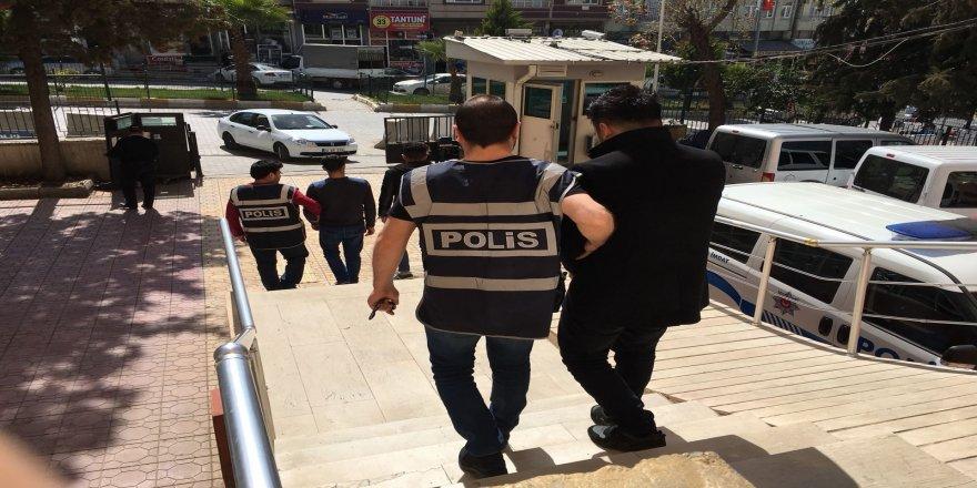 Kesinleşmiş cezası olan şahıslar yakalandı