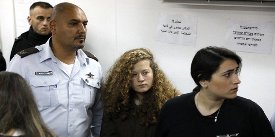 Ahed Tamimi'ye 8 ay ceza