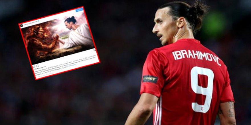 Zlatan Ibrahimovic'ten olay ayrılık paylaşımı