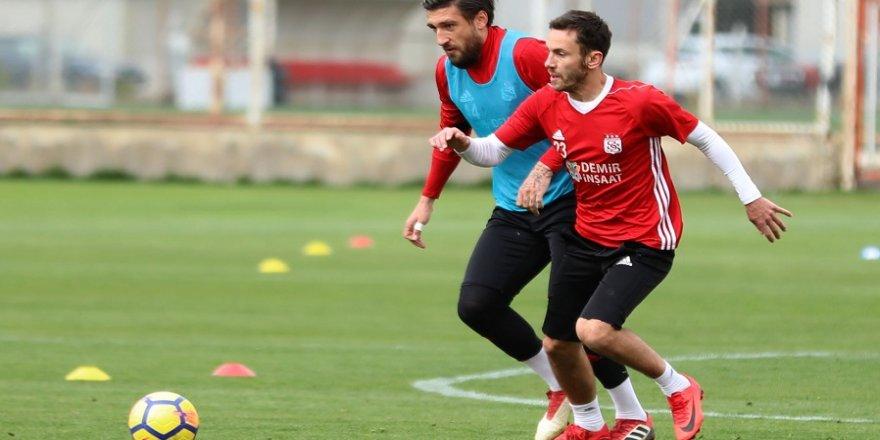 Sivasspor'da Karabükspor maçı hazırlıkları
