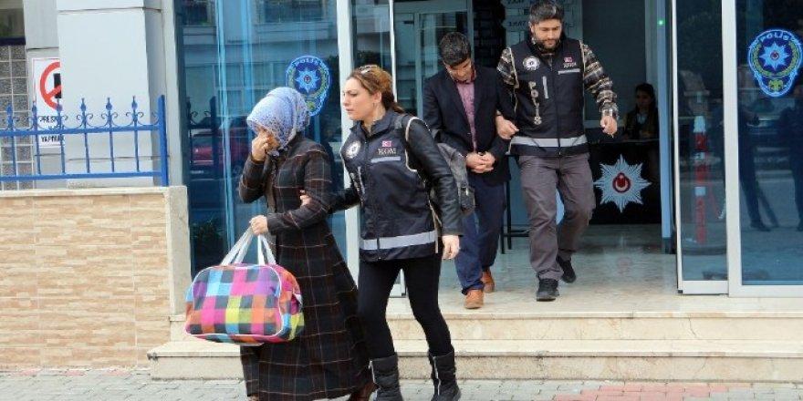 Aranan şüphelilere yönelik operasyon: 1'i kadın 15 gözaltı