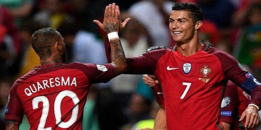 Ronaldo ve Quaresma'dan muhteşem dönüş!