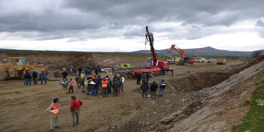 YHT inşaatında göçük: 3 işçi yaralandı