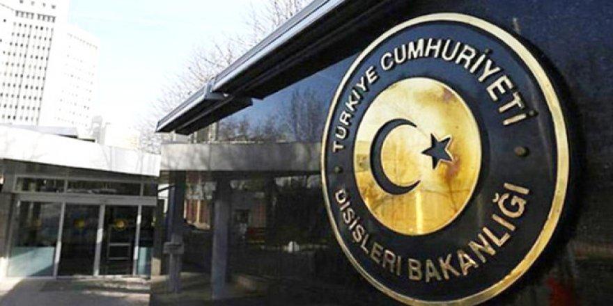 Dışişleri Bakanlığı, AB Zirvesi'nin Türkiye kararını kınadı