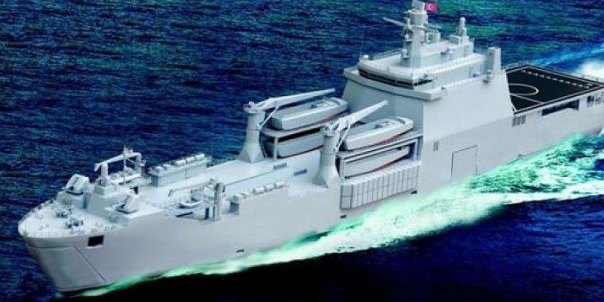 """Türkiye'nin ilk milli uçak gemisi """"TCG Anadolu"""""""